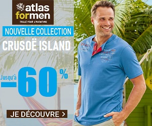 Atlas For Men: Découvrez la nouvelle collection